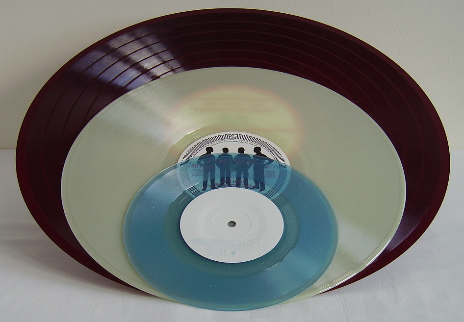 Electrical Transcription Disc, 12-inch single, 7-inch single