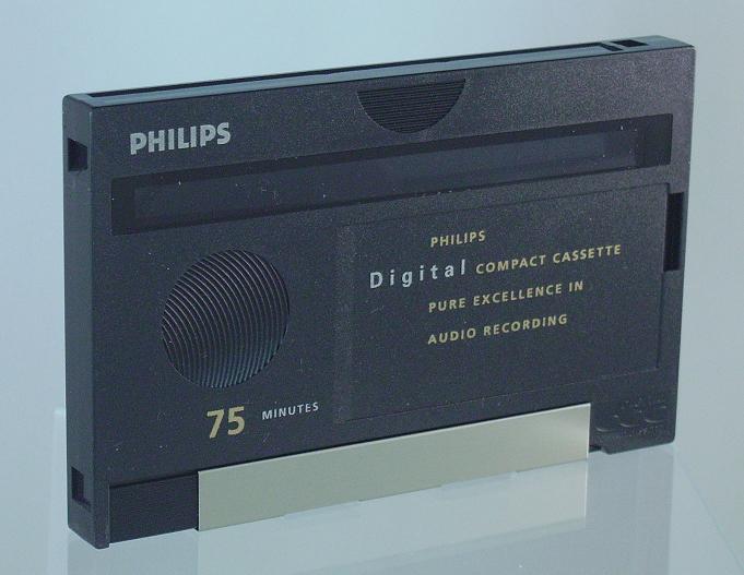 Digital Compact Cassette (blank, front)
