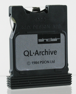 ZX Microdrive (QL front)