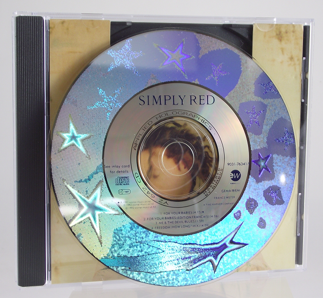 Holographic Compact Disc