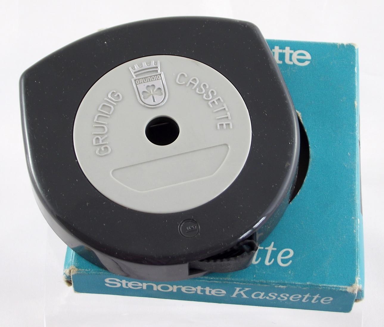 Grundig Stenorette cassette