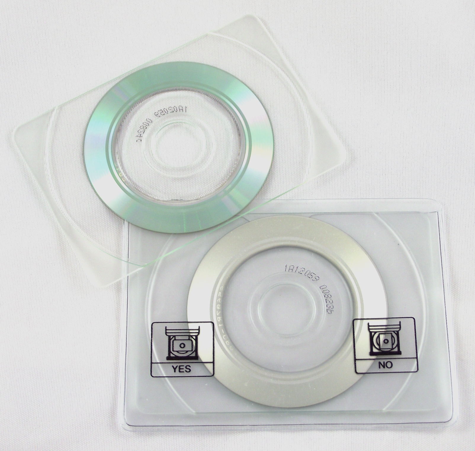 CD-R business card (front) – Museum Of Obsolete Media