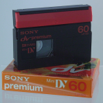 MiniDV (front, with packaging)